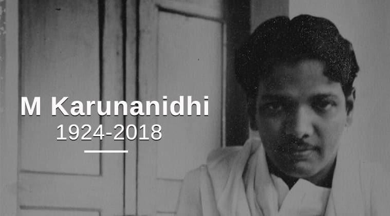 Karunanidhi, Karunanidhi death, Karunanidhi passes away, Karunanidhi dead, karunanidhi dies, M Karunanidhi burial, DMK, MK Stalin, kauvery hospital, karunanidhi health LIVE updates, India News, Indian Express