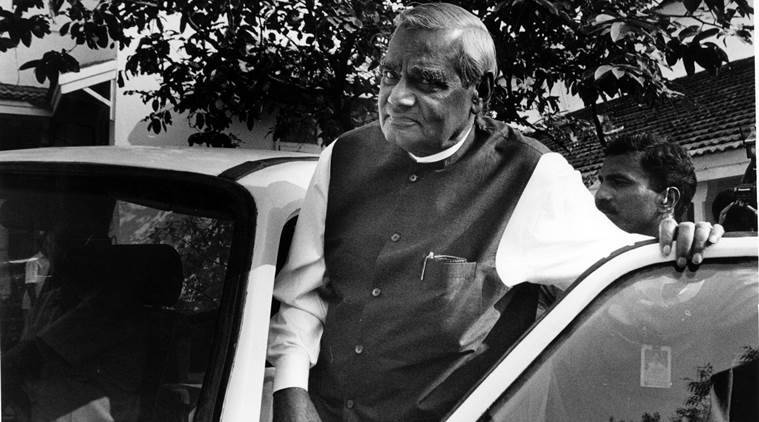 Atal Bihari Vajpayee's record is a valuable reminder that India needs a measured debate on the nature of India's interests and on the means to secure them at a moment of great political and economic churn in the world. (Express archive photo)
