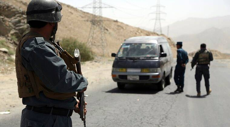 Rockets hit near diplomatic area, heavy clashes near mosque in Kabul