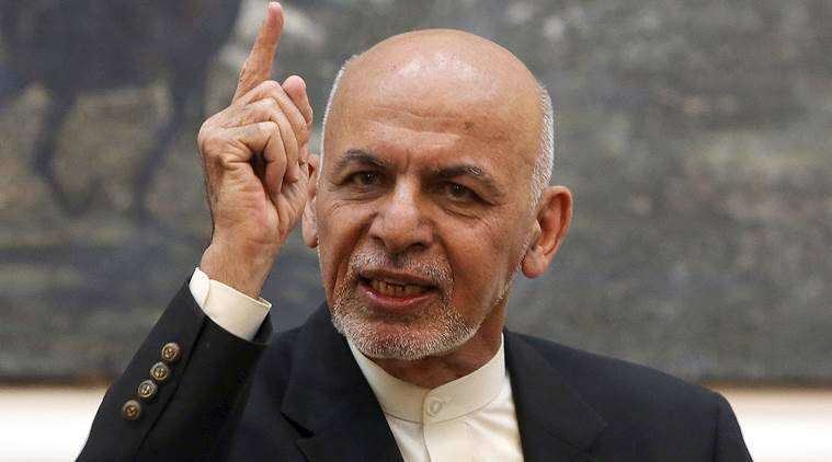 ashraf ghani us taliban talks mike pompeo
