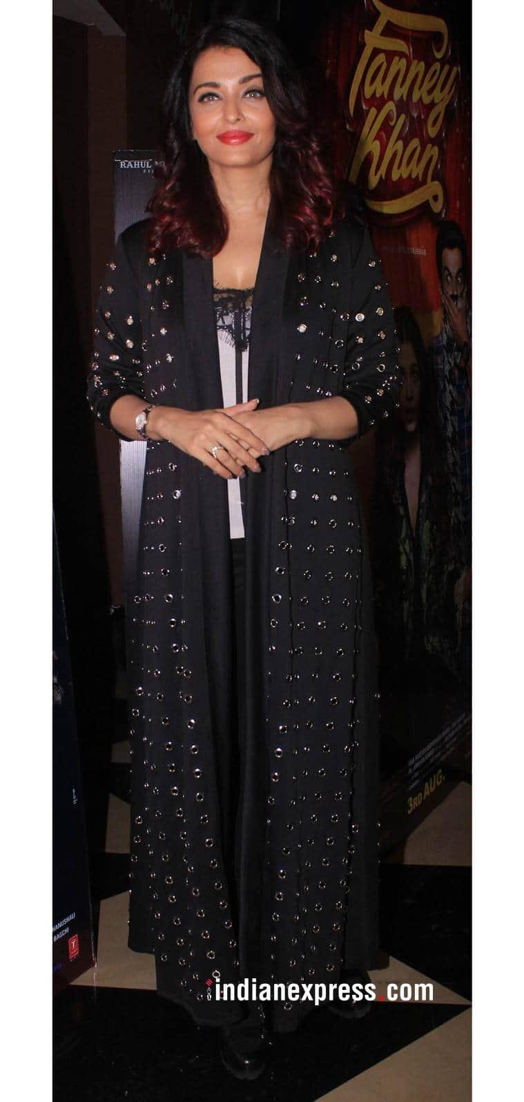 Aishwarya Rai Bachchan, Aishwarya Rai Bachchan latest photos, Aishwarya Rai Bachchan fashion, Aishwarya Rai Bachchan Fanney Khan, Fanney Khan promotions, indian express, indian express news