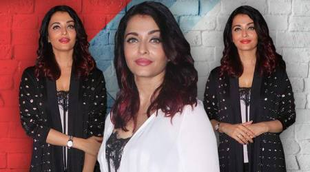Fanney Khan promotions: Aishwarya Rai Bachchan keeps it simple yet classy in monochrome