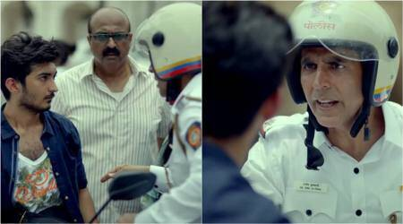 Akshay Kumar plays a constable in a new campaign to promote road safety