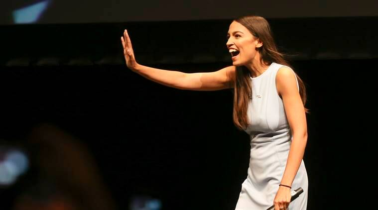 Alexandria Ocasio-Cortez pushes Democrats to the Left, whether they like it or not