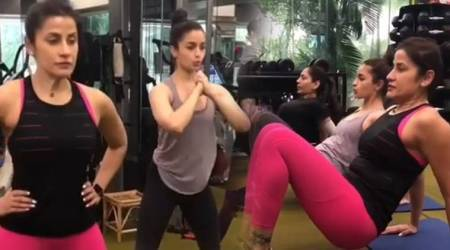 WATCH: Alia Bhatt shows how to nail the one-minute bikini body challenge