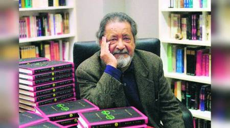 VS Naipaul, Oxford, BBC, Booker Prize, Commonwealth, England, An Area of Darkness, Winner of the Nobel Prize, UK's Conservative, indian express, indian express news