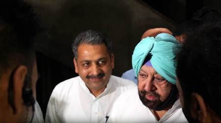 Mohali: Capt Amarinder Singh accuses Badals  of fanning communalhatred
