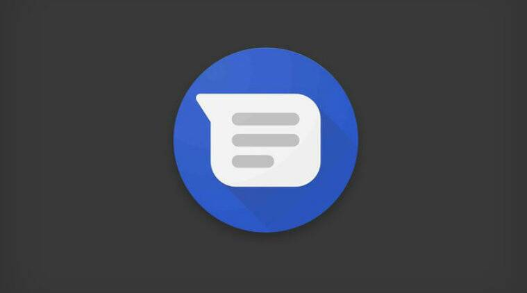 google s android messages app gets dark mode revamped interface and