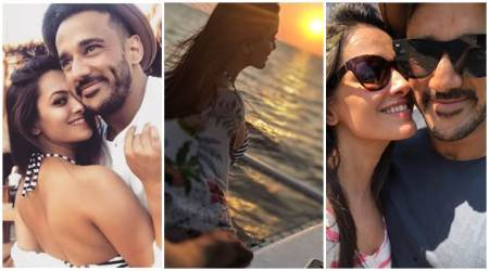 Anita Hassanandani, rohit reddy vacation photos