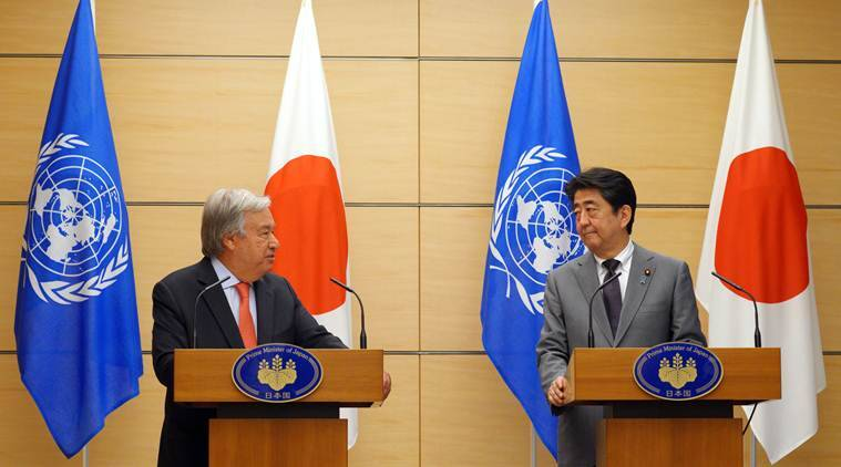 UN chief expresses full support for US-Japan dialogue with N Korea