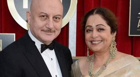 Anupam Kher wishes wife Kirron Kher a happy 33rd wedding anniversary