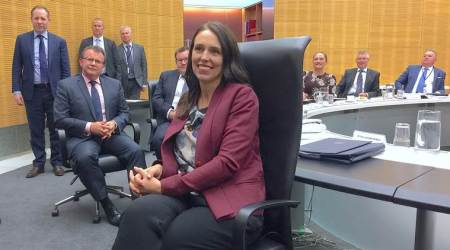 'Nice to be back': New Zealand PM  Jacinda Ardern returns to capital after maternityleave