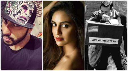 Have you seen these photos of Arjun Kapoor, Krystle D'Souza and Akshay Kumar?