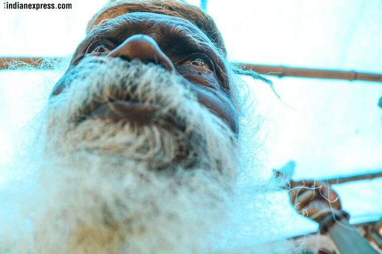 In Asansol, a godman who calls himself God, with idol, temple and a very human existence
