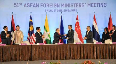 ASEAN asks bloc to brace amid trade feuds, repelprotectionism