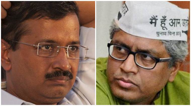 Ashutosh resignation, Arvind Kejriwal, arvind Ashutosh, AAP party leader resignation, aam aadmi party, aam aadmi party news, aap news, delhi government news, journalist ashutosh