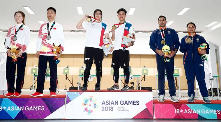 tally game 15th asian medal