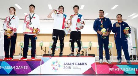 Asian Games 2018 Medal Tally, Standings: Shooters help India open account