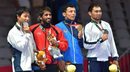Asian Games 2018 Day 1 Highlights: Bajrang Punia wins gold, shooters Apurvi Chandela-Ravi Kumar bronze