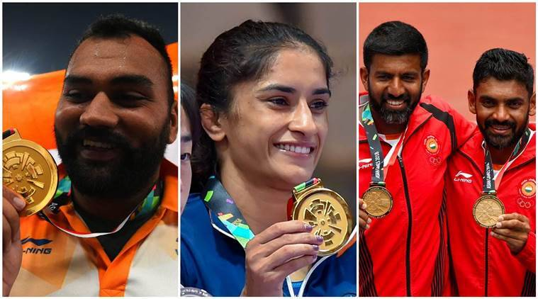 Asian Games 2018 Final Medals List India Philippines ...