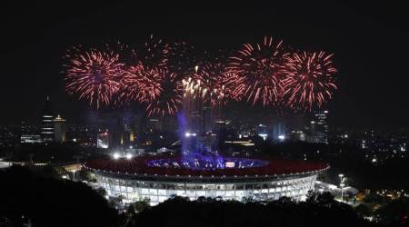 Asian Games 2018 Opening Ceremony Live: Neeraj Chopra leads the way in parade for India