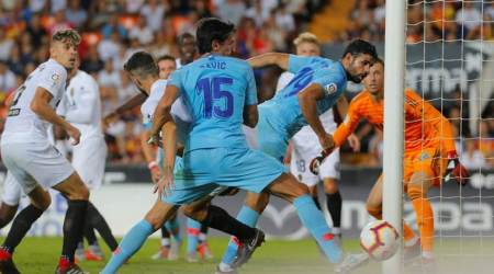 Valencia hold Atletico Madrid in thrilling draw