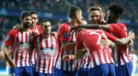 Atletico Madrid beat Real Madrid 4-2 after extra time in Super Cup