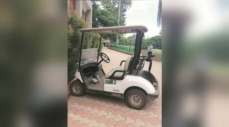 Chandigarh Golf Club buys golf carts with money from Amritsar Congress MP's fund