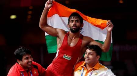 Asian Games 2018: Bajrang Punia wins India's first gold medal