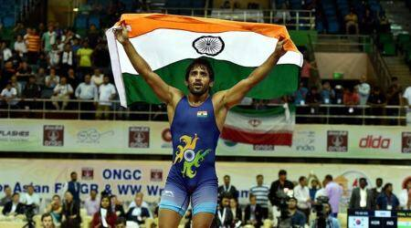 Yogeshwar Dutt has worked on developing champion's attitude in me, says Bajrang Punia