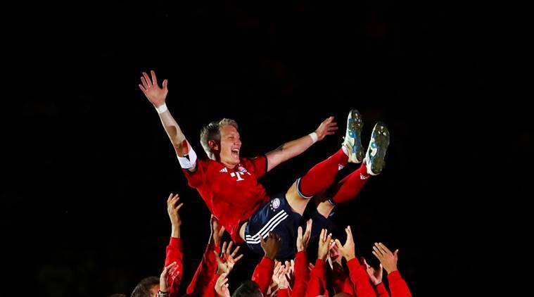 Bayern Munich legend Bastian Schweinsteiger bids emotional farewell in testimonial match