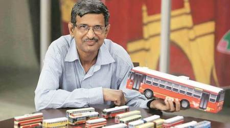 Mumbai: History of transportation preserved in papermodels