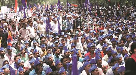 The Bhim Army on Sunday afternoon held a public meeting on Parliament street in New Delhi. (Representational)