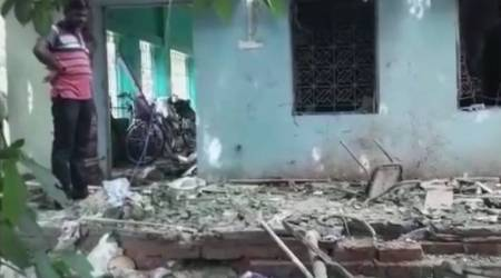 Two killed, 4 injured in blast at Trinamool Congress office