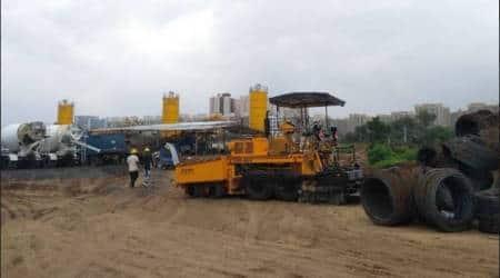 ahmedabad bullet train project, bullet train, bullet train project, indian express, gujarat bullet train