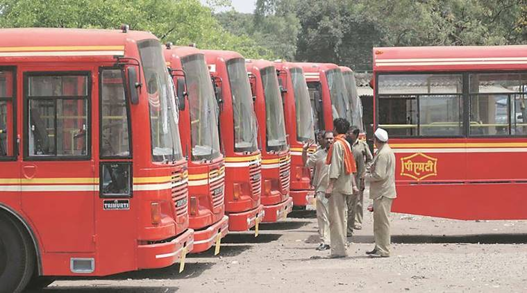 Pune: PMPML chief visits Pimpri to ensure smooth operation on BRTS