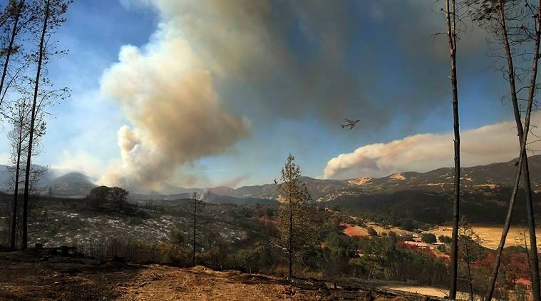 Massive California wildfire becomes fifth largest in US history
