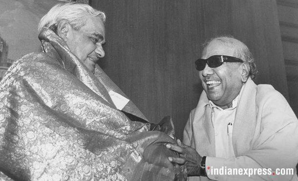 Karunanidhi passes away: Rare and unseen photos from his political journey