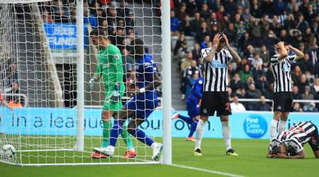 Late Newcastle own goal makes it three wins in three for Chelsea