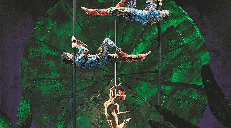 circus, Cirque du Soleil,Cirque du Soleil mumbai, circus in mumbai, circus in delhi, circus artists, indian express news