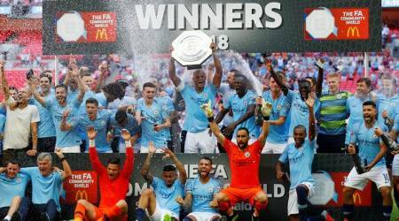 Manchester City beat Chelsea 2-0 to win the Community Shield