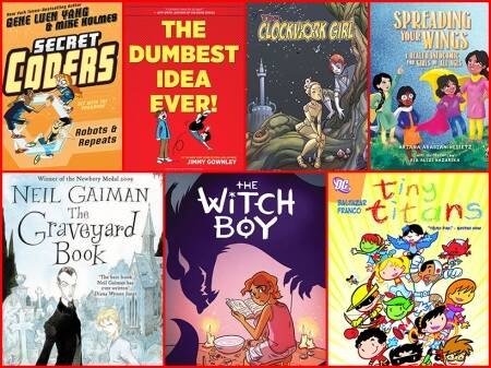 24 graphic novels that can turn your kids into book addicts!