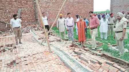 Six workers killed, 10 hurt after under-construction wall of rice sheller collapses near Khamanon Mandi