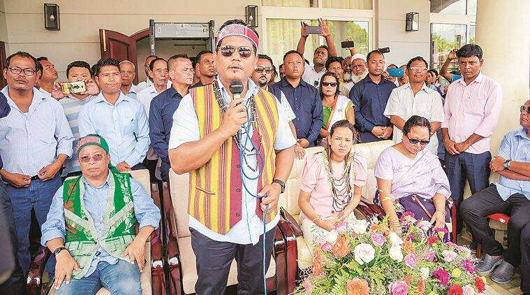 meghalaya assembly polls, meghalaya assembly poll results, South-Tura Assembly bypoll, sangma wins in meghalaya, Conrad Sangma, Meghalaya CM, Meghalaya, NPP, Indian express