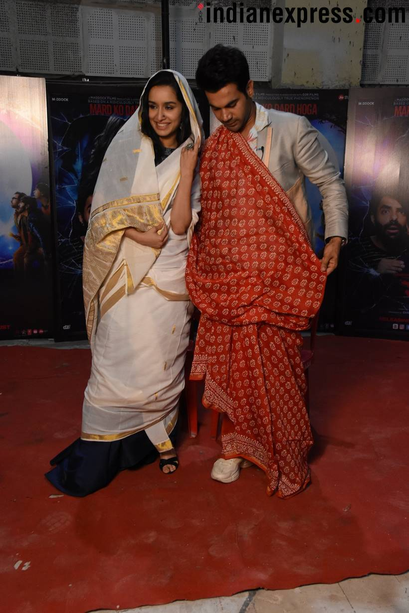 Shraddha Kapoor and Rajkummar Rao promote Stree
