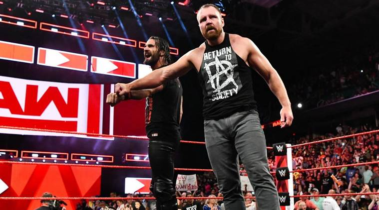 Wwe Raw Results Dean Ambrose Returns To Aid Seth Rollins