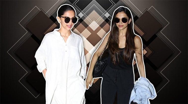 airport fashion, Deepika Padukone, Deepika Padukone airport fashion, Deepika Padukone latest news, Deepika Padukone latest photos, celeb fashion, bollywood fashion, indian express, indian express news