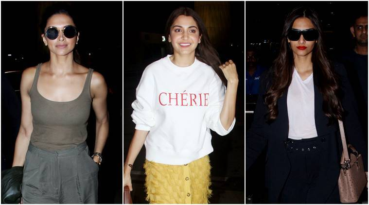 Deepika Padukone, Anushka Sharma, Sonam Kapoor: Best airport looks of the week