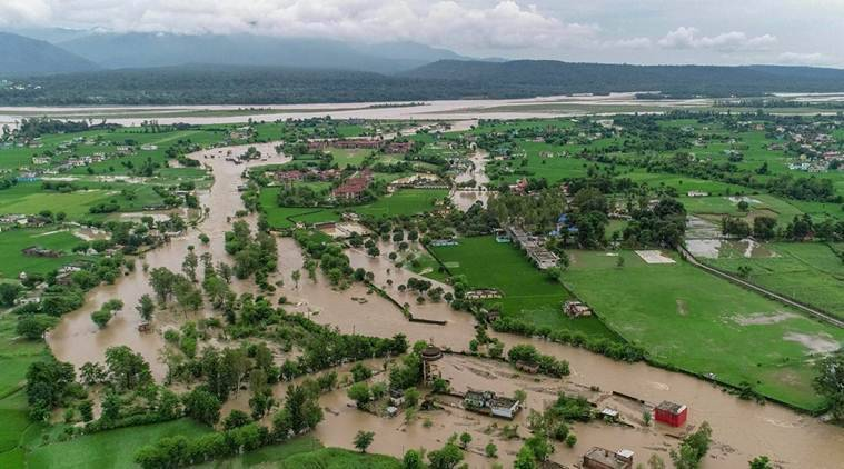 Image result for images of Heavy rain pounds Karnataka, flood alert in affected districts