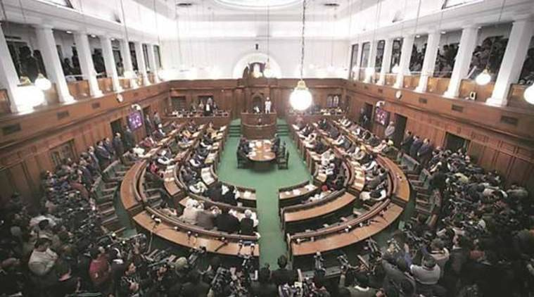 AAP MLAs wear party caps in Assembly, BJP lodges complaint with Speaker